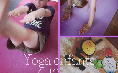 Nouveau ! cours de yoga pour enfants