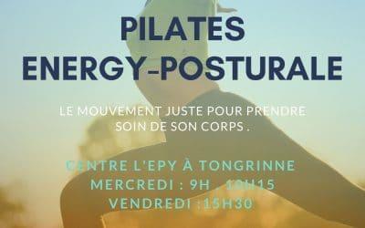 Pilates et Energy-Posturale à l'EPY